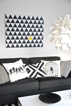 Do it Yourself Wall Art in the style of Ferm Living