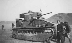 Vickers Medium MkII* Tank in service with the British Army from It saw limited action in 1940 against the Italians in the Western Desert at Mersa Matruh. British Army, British Tanks, Operation Sea Lion, Ww2 Photos, Armored Fighting Vehicle, World Of Tanks, Panzer, Armored Vehicles, Skin So Soft