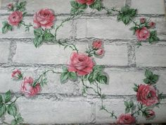 Shabby Chic Painted Brick on the Rose Cottage Guesthouse