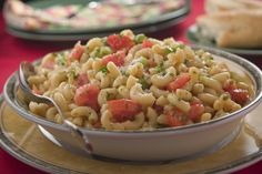 Gazpacho Pasta Salad | MrFood.com