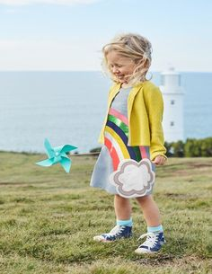 You'll love this smart shift dress with its cheery logos and sparkle. This fun style has bold appliqué designs with colourful details, and some even have shimmering sequins. The light cotton fabric will keep you super-cool on hot, sunny days.