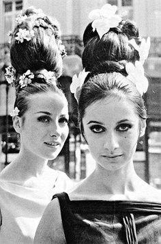 1960's big hair