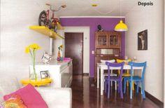 As cadeiras Lapa fizeram toda a diferença na transformação do apartamento da leitora da revista Minha Casa. Edição de dezembro.  http://www.meumoveldemadeira.com.br/busca_Loja.html?b=&q=cadeira+lapa