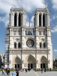 La celebre Cattedrale di Notre Dame