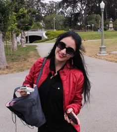 I love my red jacket, It's so me.