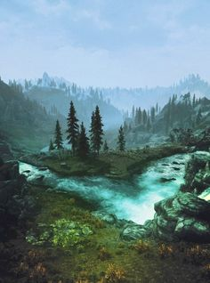 Videogame graphics are too much to handle right now. Skyrim is by far one of my favs.