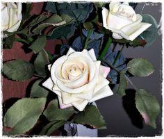 ARRANJO DE FLORES: ROSAS BEGE <br> <br> <br> <br>Arranjo de rosas em vaso de cerâmica branca e rosas beges, com detalhes rosa e verde. <br> <br>As rosas são feitas com material de qualidade e o galho é composto por rosas abertas e em botões. O formato sinuoso do vaso confere sofisticação ao tradicional arranjo de rosas. <br> <br>A aparência do arranjo é delicada, muito semelhante à rosa natural.Ele é ideal para decorar ambientes residenciais e comerciais. A escolha das flores deste arranjo…