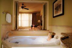 Disney Resort Hotels, Disney's Saratoga Springs Resort & Spa - Guest In Bath Tub, Walt Disney World Resort