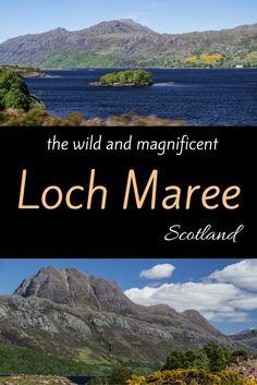 Beinn Eighe Loch Maree Scotland Pin