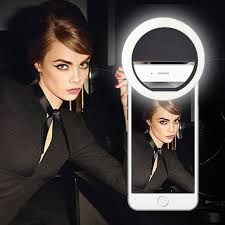 Cilp on 36 LED Selfie Ring Light for cell phone Camera [Foldable wide-angle lens] Rechargeable Battery phone ring light Selfie LED Ring Light for Phone Camera Brightness Selfie Light Led Selfie Ring Light, Led Ring Light, Innovation Models, Ring Lamp, Phone Clip, Police Officer Gifts, Accessoires Iphone, Smartphone, Light Take