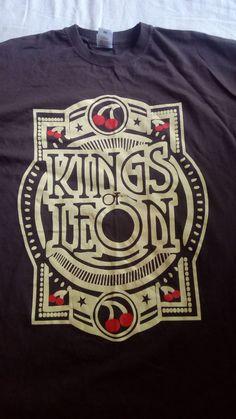 Kings Of Leon Mechanical Bull European Tour 2sided shirt XL cotton 100%