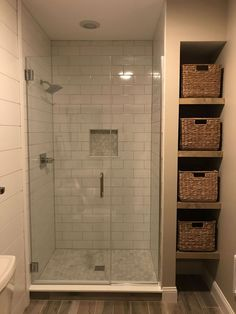 Modern Farmhouse, Rustic Modern, Classic, light and airy master bathroom design ideas. Bathroom makeover suggestions and master bathroom renovation ideas. Bathroom Design Small, Bathroom Layout, Bathroom Interior Design, Tile Layout, Bath Design, Bathroom Designs, Small Master Bathroom Ideas, Tile Design, Bad Inspiration