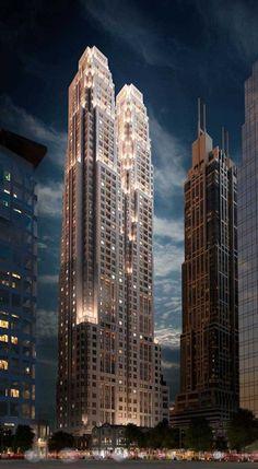 Shang Xian Fang Redevelopment, Shanghai, 2014 - Ricardo Bofill Taller de Arquitectura #tower #skyscraper