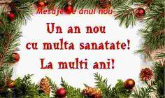 An nou fericit,. Christmas Wreaths, Merry Christmas, Christmas Ornaments, An Nou Fericit, Messages, Holiday Decor, Anime, Mai, Facebook