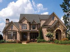 Plan W15616GE: Luxury, Traditional, Photo Gallery, European, Corner Lot,  French · My Home DesignFrench Country ...
