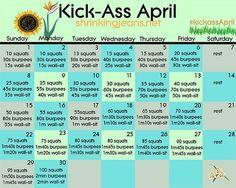 April Workout Challenge