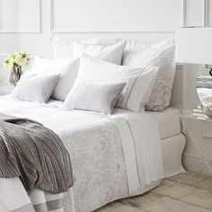 DAMASK PERCALE BED LINEN - Bedding - Bedroom | Zara Home United States