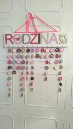 Kalendarz Rodzinny Można zamowic tu http://pl.dawanda.com/shop/Beademi