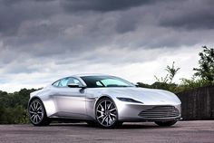Aston Martin DB10. Nothing but the finest for James Bond.