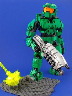 Master Chief, Spartan 117 by Ewok in Disguise, via Flickr