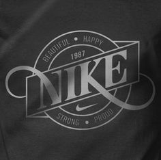 Nike Graphics 2012 by Mats Ottdal, via Behance #nike #graphic #typography