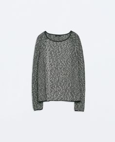Image 6 of TWO-TONE SQUARE CUT JUMPER from Zara