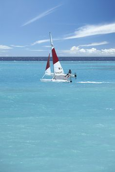 Go for a catamaran ride in #Maldives