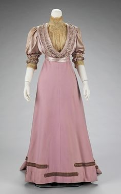Afternoon suit by House of Paquin, 1906-08 France, the Met Museum by .Vicky.Toria.