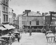 Wind Street, Swansea, in the mid-to-late century Swansea Wales, Cymru, South Wales, Welsh, Fathers, 19th Century, Whale, Street View, Europe
