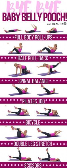 Postpartum Pilates Core Workout Time for mom to get strong! Blast away that baby belly pooch with these killer Pilates exercises that strengthen your core and tone your entire body. This is the perfect nap time low-impact workout, a Post Baby Workout, Post Pregnancy Workout, Workout Postpartum, Mom Workout, Low Ab Workout, Beginner Core Workout, Postpartum Belly, Post Pregnancy Belly, Beginner Pilates
