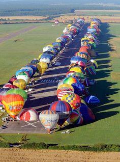 DESCUBRE TU MUNDO: Imagen de la semana: record mundial de globos ...