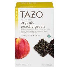 Tazo Organic Peachy Green Tea 20 ct