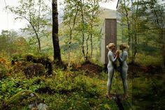 Juvet Landscape Hotel in Norway. Architects: Jensen & Skodvin Architects