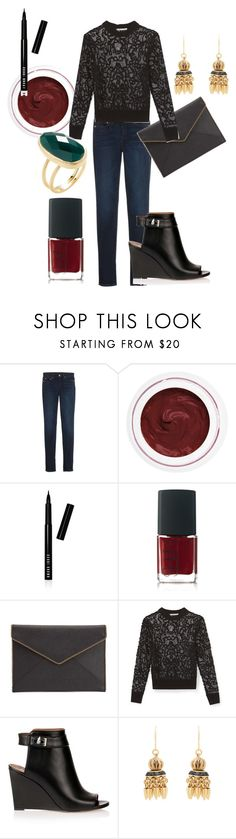 """""""Rebecca Minkoff for the holidays"""" by pia-soy on Polyvore featuring Point Sur, rms beauty, Bobbi Brown Cosmetics, NARS Cosmetics, Rebecca Minkoff, Givenchy, Elizabeth Cole, Rivka Friedman and RMSF"""