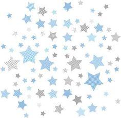 Deko Kinderzimmer Sterne Babyzimmer Grau Junge