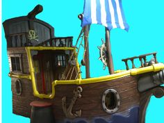 Captain Jake's Pirate Ship Bed...AHHH I found it!  The final touch to the Jake and the Neverland Pirates bedroom for Presley :) :) :)