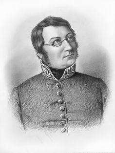 Dikteren Henrik Wergeland (1808-45) var Norges første riksarkivar. Norway, Scandinavian