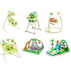Fisher-Price - Rainforest Collection Bundle... I love the whole set!