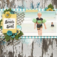 Layout using {Calm} Digital Scrapbook Kit by Melissa Bennett Designs available at Sweet Shoppe Designs http://www.sweetshoppedesigns.com//sweetshoppe/product.php?productid=34566&cat=839&page=1 #melissabennettdesigns