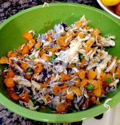 Homemade Dog Food Chicken Sweet Potatoes