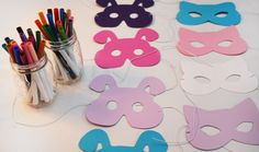 home made birthday party decorations and favors