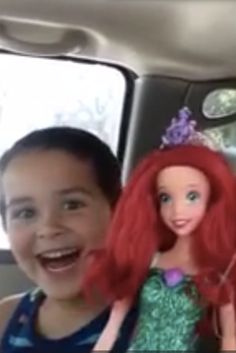Huffington Post: Aug. 25, 2015 - Video: Vid of dad's reaction to son choosing a doll as gift goes viral