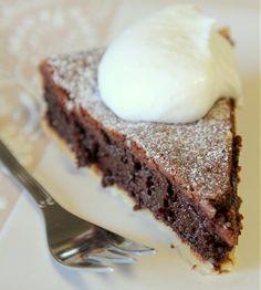 Dark Chocolate Pie - מתכון לפאי שוקולד מריר
