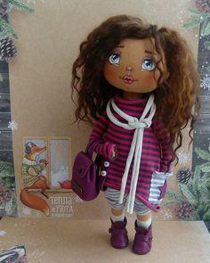 Маленькая модница В резерве! . #кукларучнойработы #авторскаякукла #ручнаяработа #куклыручнойработы #doll #dolls #toys #handmade #vrn #воронеж #сделанослюбовью #подарок