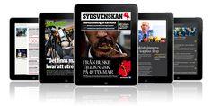 Sydsvenskan for iPad    #sydsvenskan #ipad #newspaper #magazine