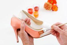 Farbige Brautschuhe - Elsa Coloured Shoes Färbeservice für Brautschuhe