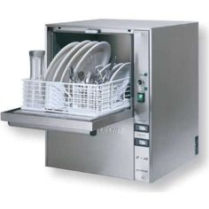 Countertop Dishwasher Cup/Glass Washer Hi Temp W/Built In Booster Jet Tech
