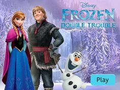 Frozen -  Double Trouble Play the Game *Help Anna make her way up the mountain in her epic journey to find her sister Elsa. *Go the the Games inside the Disney Store at  http://dubli.com/T0US19D6X  *in the Gran Shopping Mall -Join Free and Receive Cash Back*