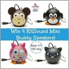 kitsound mini buddy giveaway