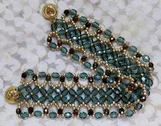 another Ribbon Bracelet from Deb Roberti.
